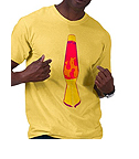 Zazzle Lava Lamp Tee Shirt
